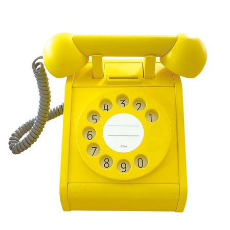 kids kiko+ & gg* Telephone toy - Yellow