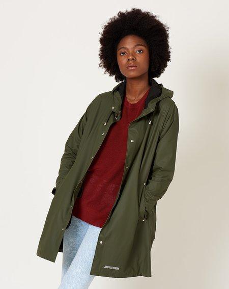 Unisex Stutterheim Lightweight Mosebacke raincoat - Green