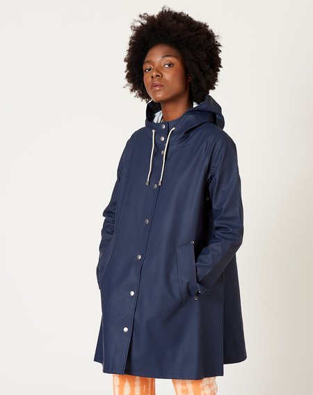 Unisex Stutterheim Mosebacke raincoat - Navy