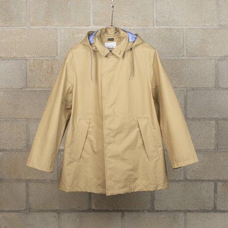 Nanamica GORE-TEX Short Soutien Collar Coat - Beige