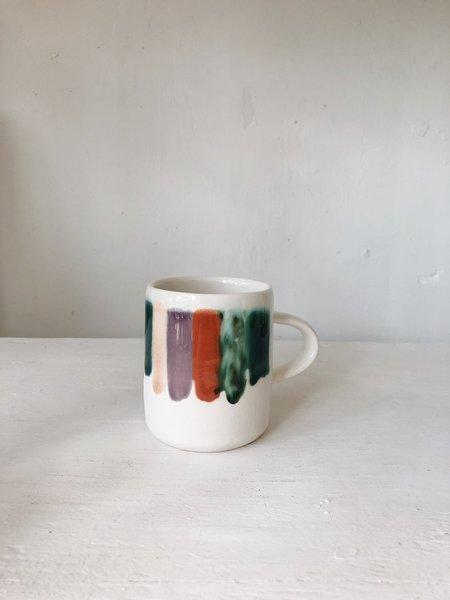 The Object Enthusiast style 2 Rainbow Drip Mug - multi
