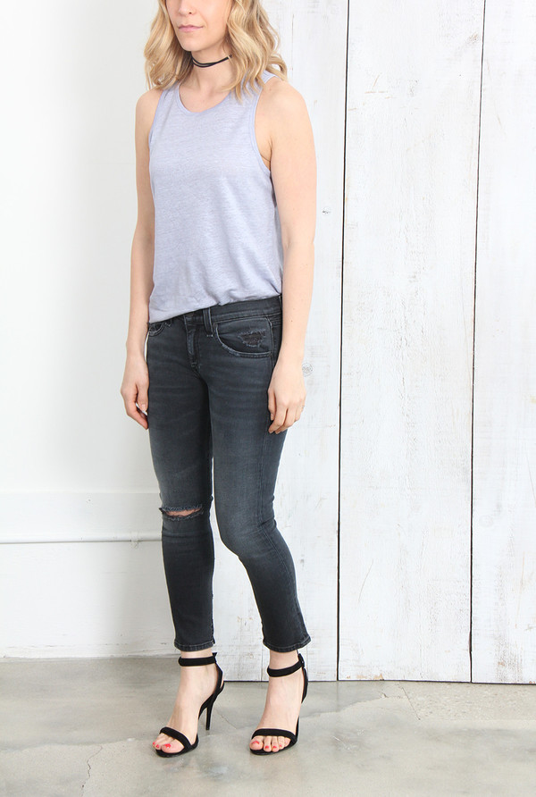 T By Alexander Wang Linen Tank Top