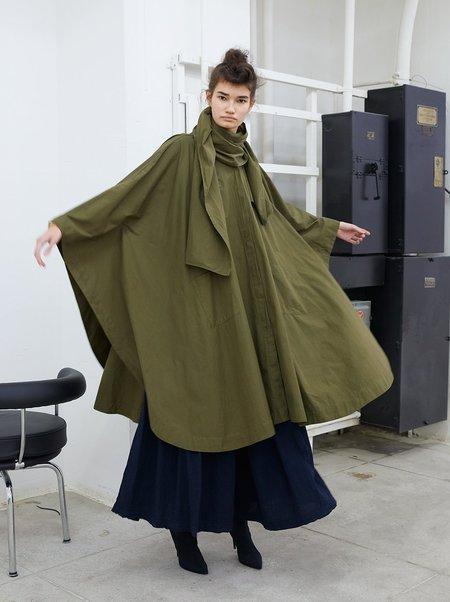 Atelier Delphine Kempster Coat in Marsh
