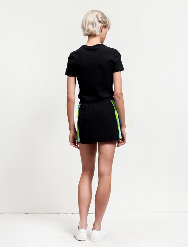 No Ka Oi Amae Skirt Black/Rainbow