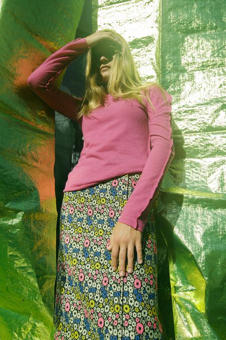 WNDERKAMMER Jacquard Flower Skirt