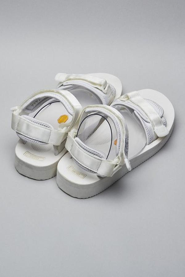 Suicoke Nylon Cel-V Sandal - White