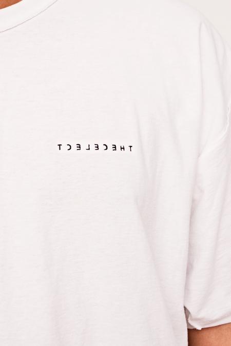 The Celect Reverse Logo T-Shirt - White