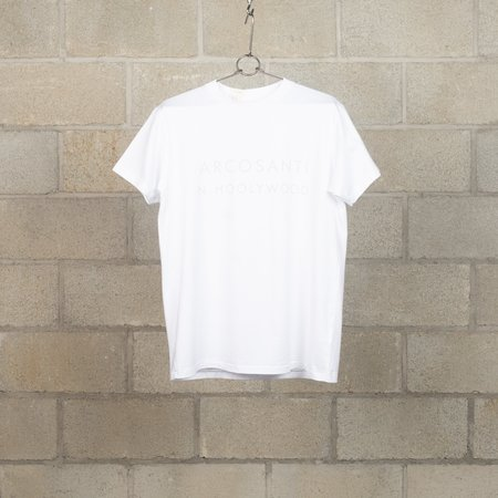 N.Hoolywood ARCOSANTI T-Shirt - White