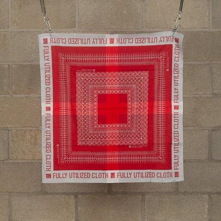 N.Hoolywood Fully Utilized Bandana - Red