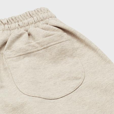 unisex curated by. Fleece Sweatpants - Beige/Gray
