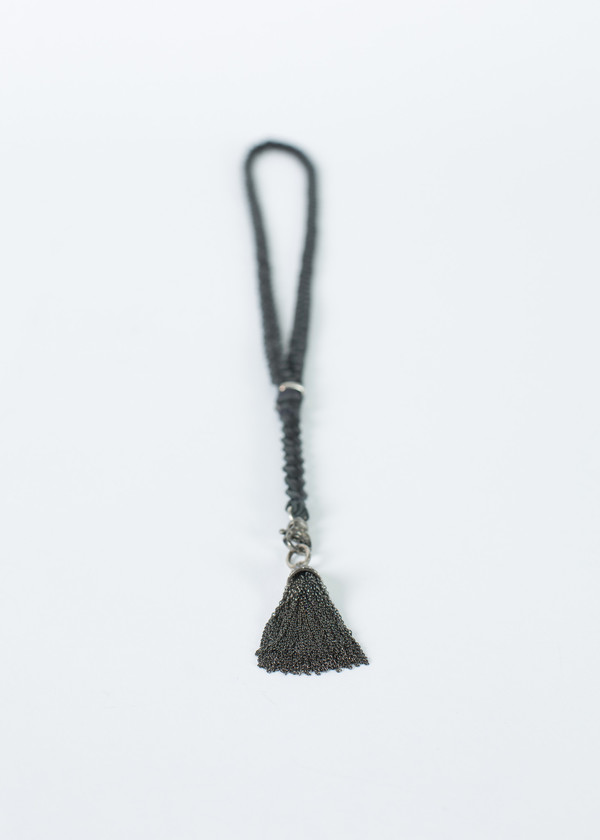 Jewels by Piper Diamond Tassel Braided Necklace