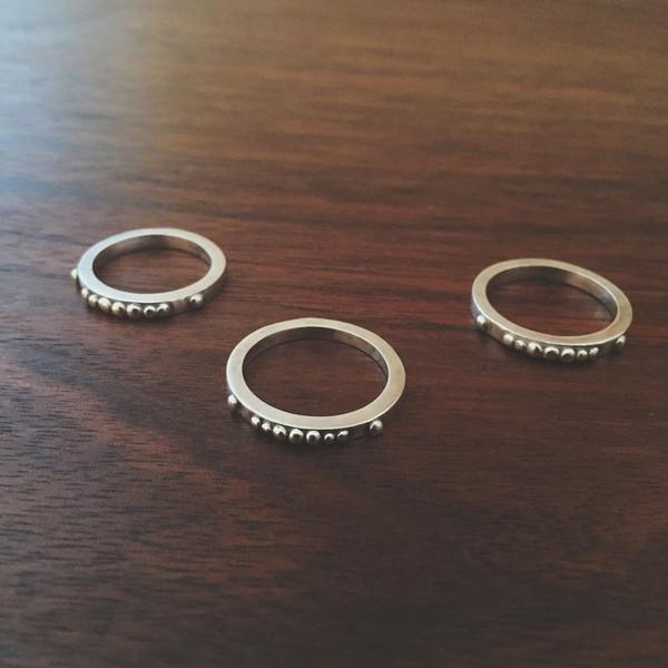 Shannon Munro Andromeda Stacker Ring