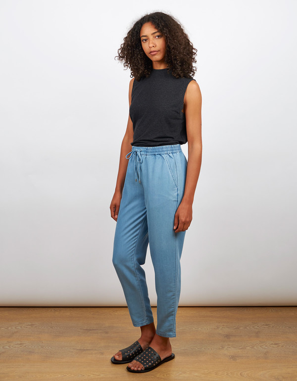 Minimum Mirza Pants Medium Blue