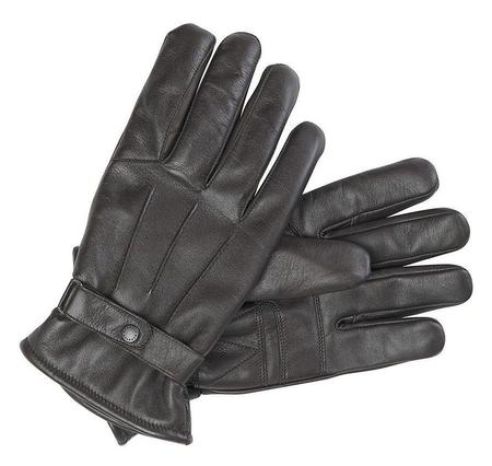 Barbour Burnished Leather Thinsulate Gloves - Brown