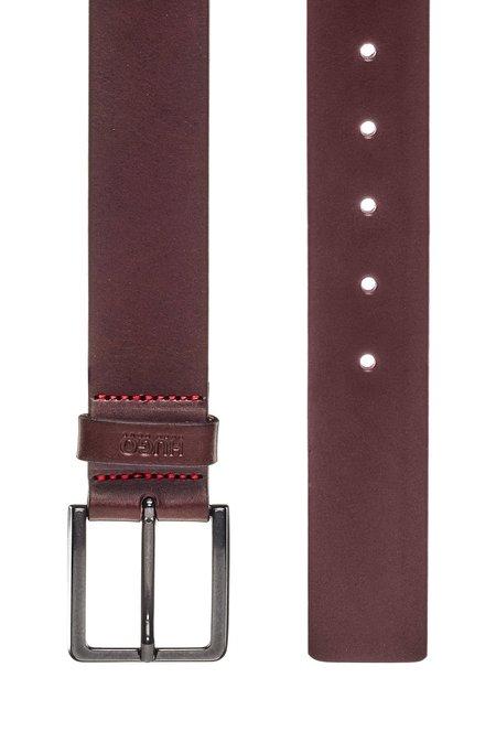 Hugo Boss Gionio Leather Casual Belt - Brown