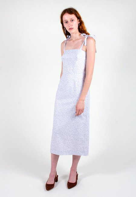 hidden Catherine Dress - grey floral