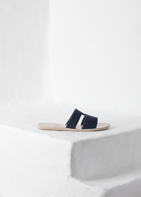 Ancient Greek Sandals Apteros - navy
