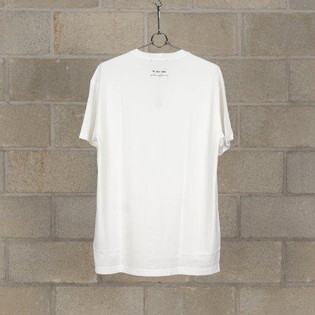 The Viridi-Anne x Patricia March Collaboration Print Short Sleeve T-Shirt - White