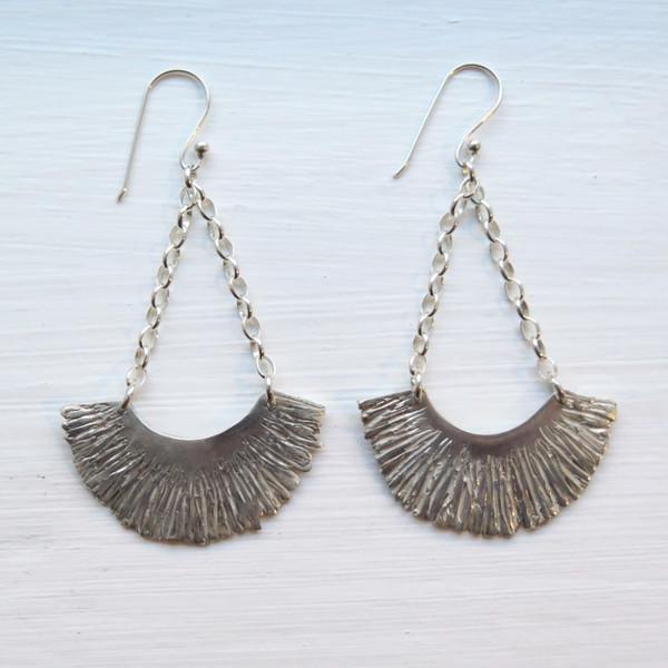 Shannon Munro Arcadia Earrings - silver