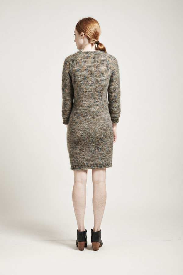 Objects Without Meaning Amber Mohair Sweater Dress