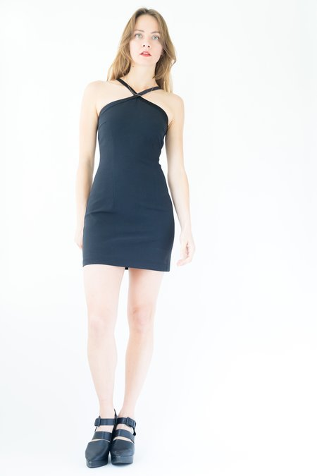 Backtalk PDX Vintage Cache Holiday Dress - black