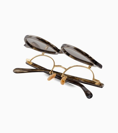 Phigvel Makers & Co. Specs Artisan Sunglasses - Marble Olive