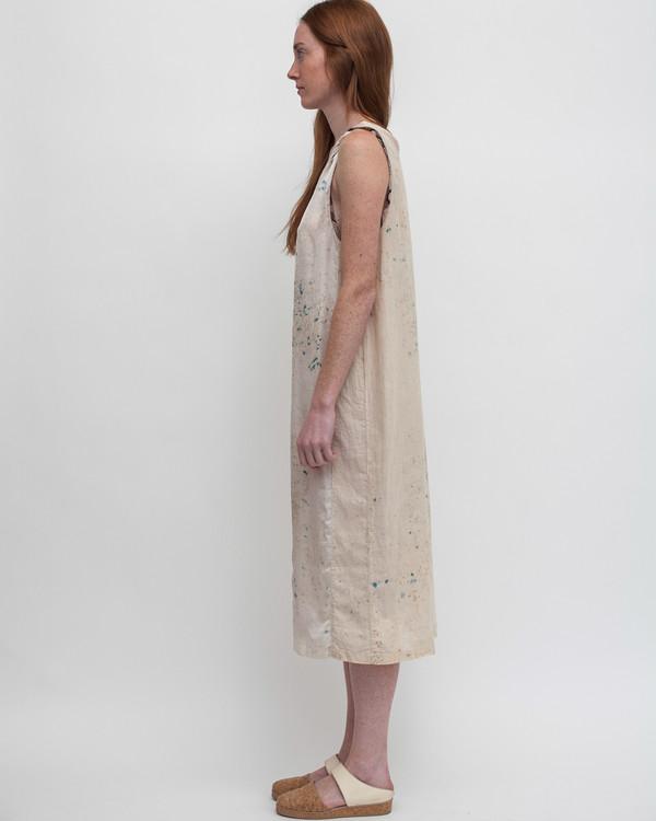 Milena Silvano Dharmette Dress in Stain Dye