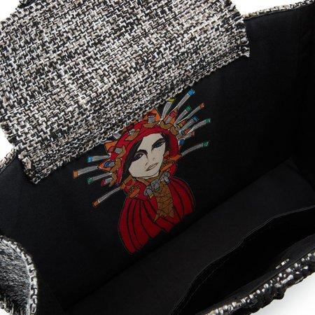 Kooreloo Epiphany Book Tote - Domino Tweed Bag