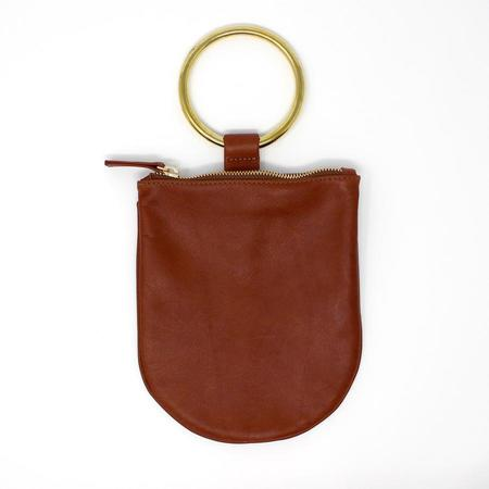 Myers Collective Medium Ring Pouch - Wine