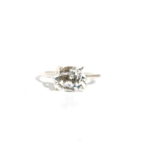 Lumo Herkimer Diamond Ring