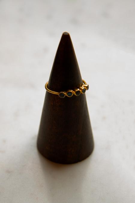 Jane Diaz NY Five Stone Ring