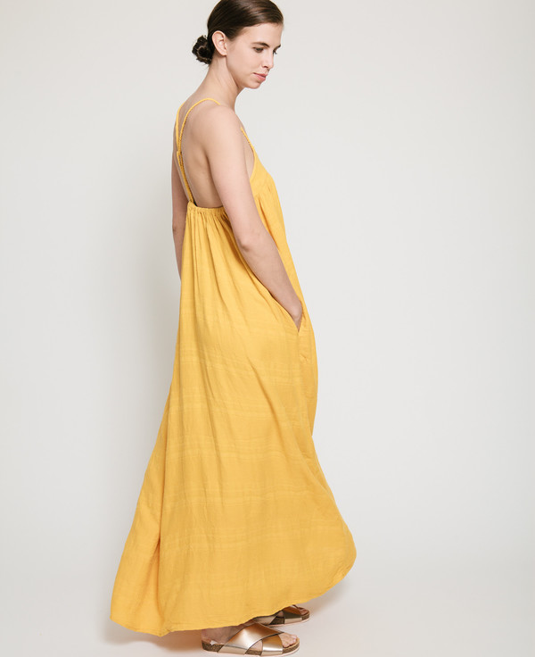 Nico Nico Mitchell Textured Dress in Mango