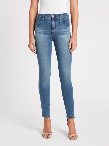 J Brand Maria High Rise Skinny Jean - Sorority