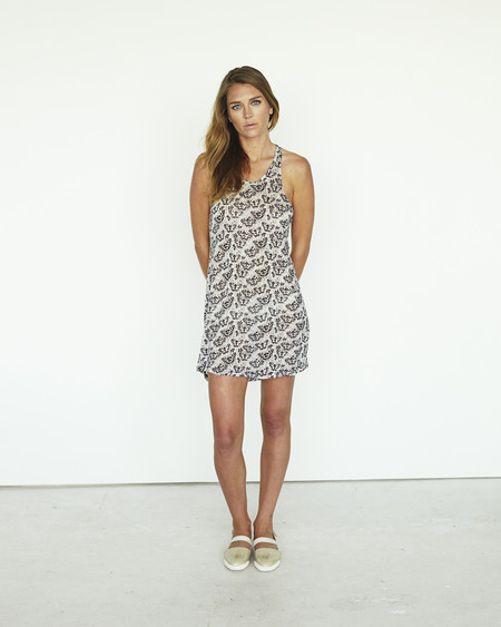 Devastee Papillon Tank Tunic Dress