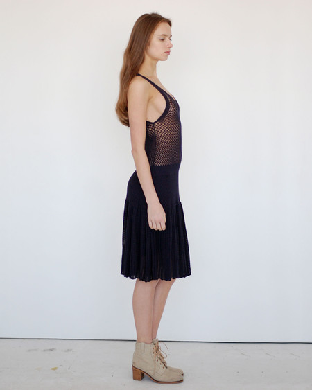 Girl by Band of Outsiders Pointelle Dress