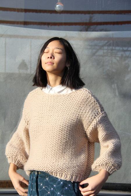 Maiami Big Sweater - Beige