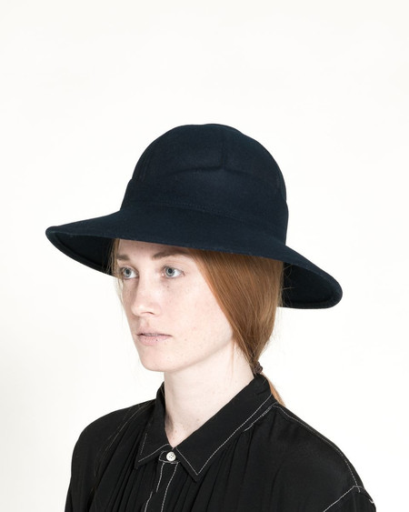 Clyde Safari Hat in Navy