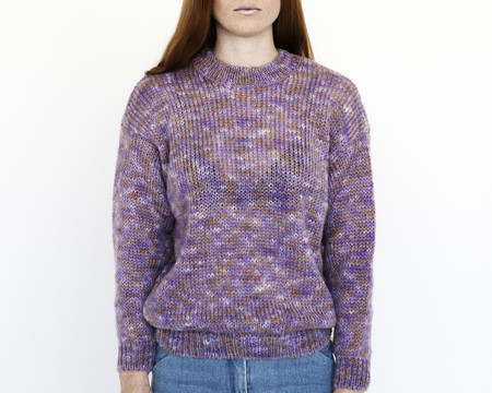 Nanushka Sanne Rainbow Mohair Sweater