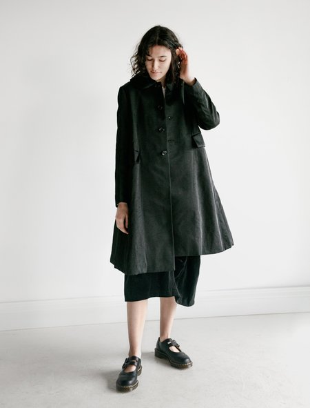 Comme des Garçons Lady Coat with Faux Fur Lining