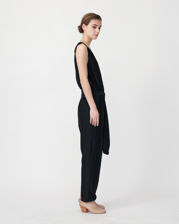 Sessun Victoire Jumpsuit in Black
