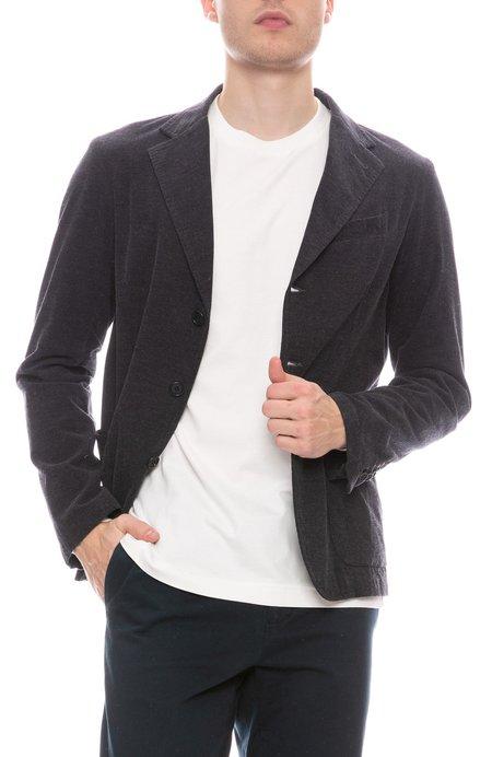 A Vested Interest Smoking Cord Jacket - Dark Grey