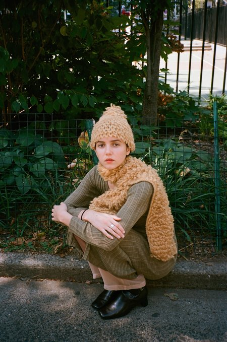 Colorant ELECTRA KNIT HAT - DUNE