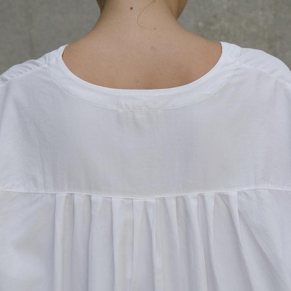 ALI GOLDEN SHIRT/DRESS - WHITE