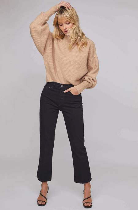 ASTR The Label Regis Mockneck Sweater - Oatmeal