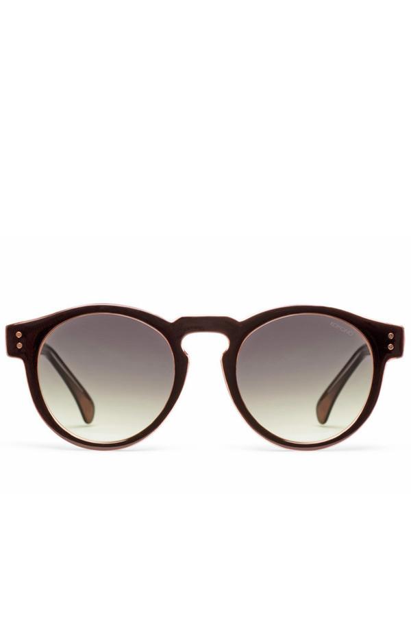 KOMONO Clement Eyewear - Black Apricot