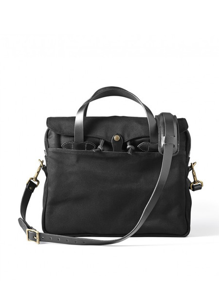 Filson Original Twill Briefcase Black