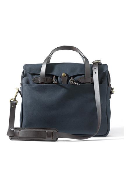 Filson Original Twill Briefcase Navy