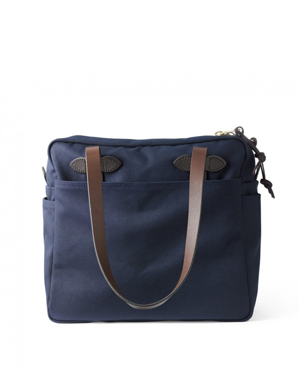 Filson Zippered Tote Navy