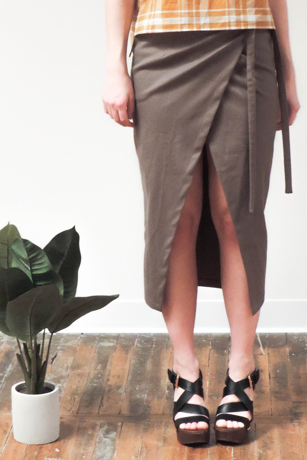 WINSOME Laval Wrap Skirt