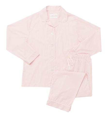 The cat's pajamas Simple Stripe Luxe Pima Pajama